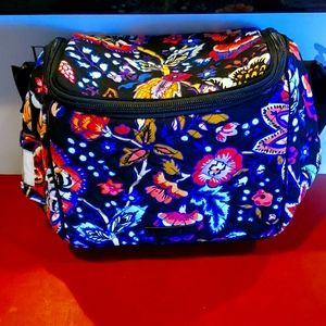 Vera bradley expandable cooler and vera mask